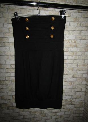 Маленькое черное платье бюстье р-р 34 от melrose