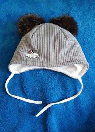 Демисезонная шапочка