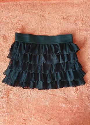 Новая школьная юбка повседневная юбочка легкая для девочки