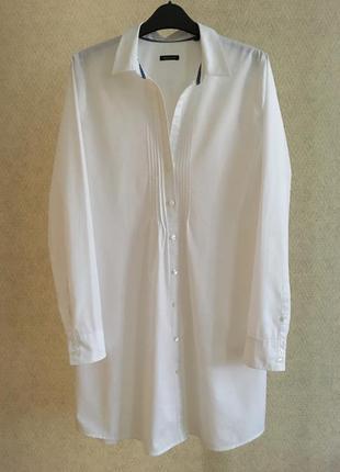 Белая рубашка туника marc o polo
