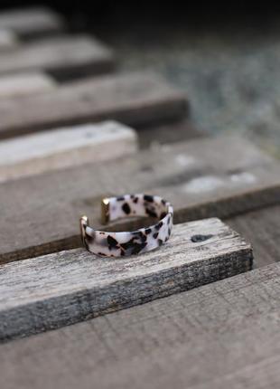 Новый стильный леопардовый браслет