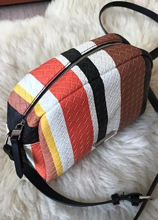 176 новая сумка комбинированной расцветки parfois