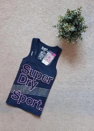 Женская спортивная майка superdry gym vest