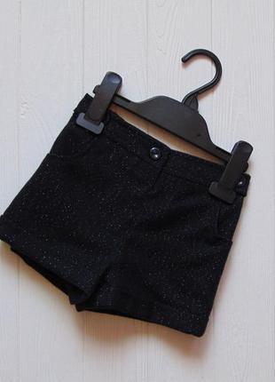 Nutmeg. размер 1.5-2 года. новые стильные шорты для маленькой модницы