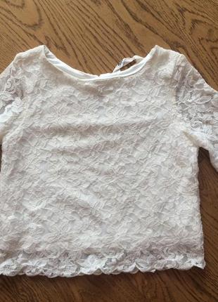 H&m, продам блузку топ для девочки