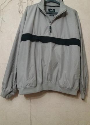 Мужская куртка-ветровка р 54