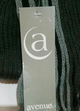 Классический мужской полосатый шарф2 фото