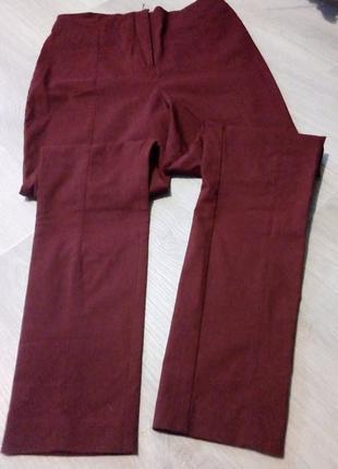 Брендовые брюки высокая посадка4 фото