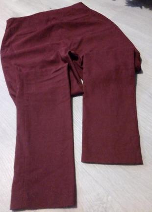 Брендовые брюки высокая посадка5 фото