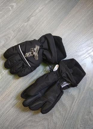 2-3г thinsulate теплющие зимние термо перчатки краги пе