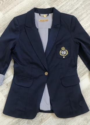 Пиджак с 3/4 рукавом