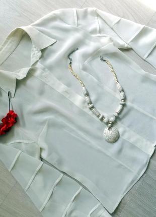 Блузка новая белая 1 сентября школа