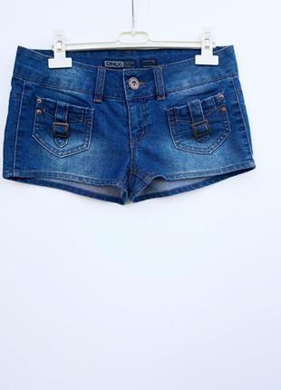 Короткие джинсовые шорты м