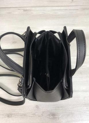 7 цветов! каркасный сумка рюкзак черный крокодил классический на учебу в школу3 фото
