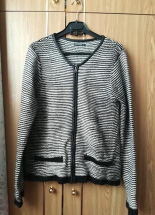 Кофта свитер пиджак кардиган на молнии
