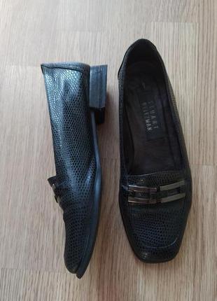 Шикарные испанские кожаные туфли