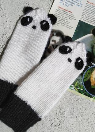 "Рукавички ""панды"""