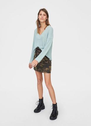 Джемпер оверсайз свитер джемпер кофта мятный качество новый