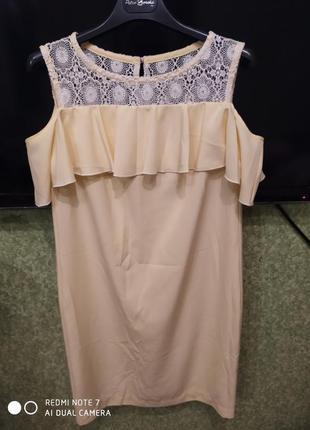 Платье нежно жёлтого цвета от petro soroka петро сорока