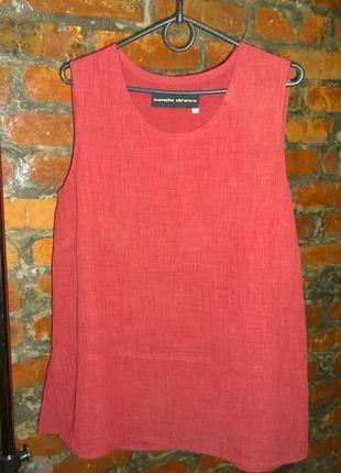 Блуза кофточка топ из немнущейся ткани