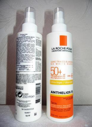 Солнцезащитный спрей для лица и тела 200 мл anthelios xl