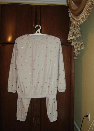 Пижама next, 100% полиестер, размер s/m, коллекция 2018 года