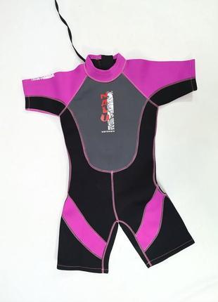Гидро костюм для девочки nalu, chest 30