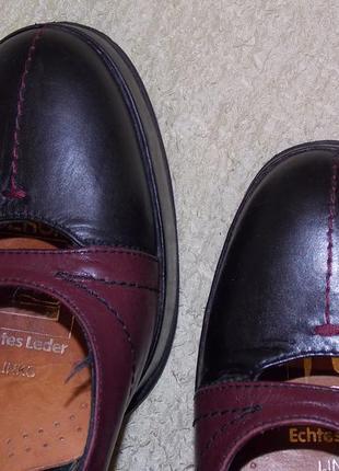 """Р.37,5 италия!""""andre sabatini"""" полностью натур.кожа!комфортные туфли ,каблук 8 см"""