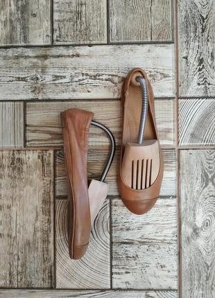 Базовые кожаные туфли, балетки от итальянского бренда pomme d'or