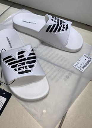 Emporio armani шлепки сандалии