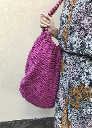 Большая,соломенная сумка,торба-шоппер,летняя,пляжная,этно,бохо стиль, atmosphere