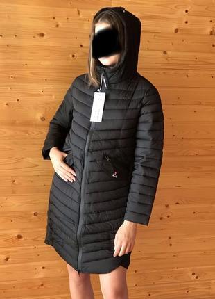Легкое стёганное пальто