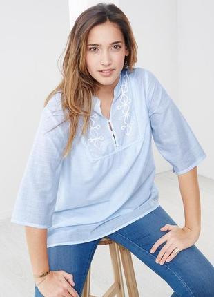 Нежная романтичная рубашка tchibo германия 44евро наш 50,48 евро наш 54 размер