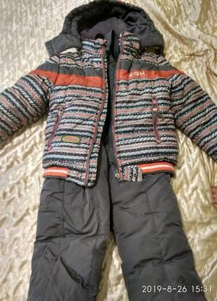 Комбинезон зимний, 104, 110, 116 (куртка, штаны)