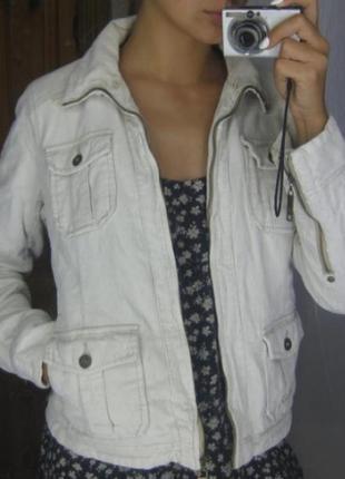 Вельветовая куртка ддинсовка на меху  весна осень