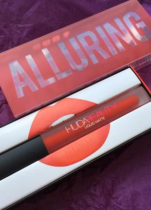 Оригинал. стойкая матовая помада huda beauty liquid matte lipstick