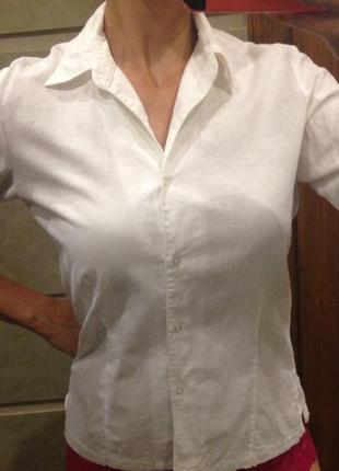 Льняная рубашка biaggini