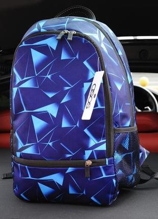 Мужской рюкзак asos diamond синего цвета