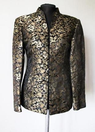 Жакет пиджак в китайском стиле