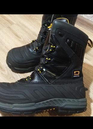 Ботинки берцы dakota (сша)с металлическим носком!