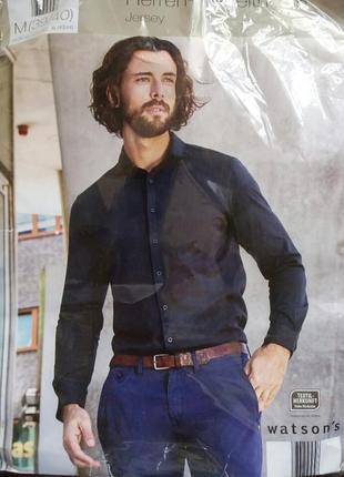 Мужская теплая рубашка от watsons германия р. м , ворот 39/40