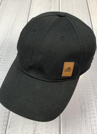 Кепка adidas original мужская чёрная бейболка