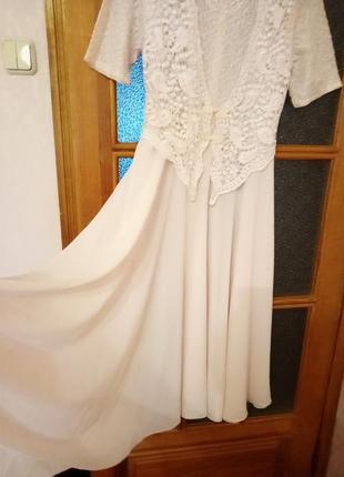 Шифоновое платье4 фото