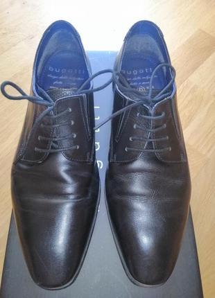 Мужские туфли bugatti 40 размер