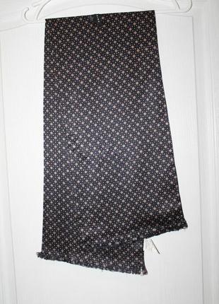 Красивый мужской шарф / 100% шелк  chine