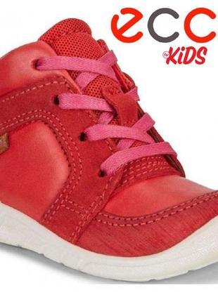 Кожаные ботинки полуботинки экко ecco first оригинал р.24,р.25,р.26 новые индонезия