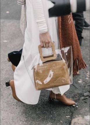 Прозрачная сумка, силиконовая сумка