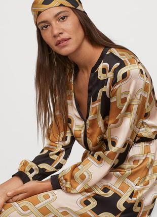 Дизайнерское платье коллаборация richard allan x h&m, вискоза