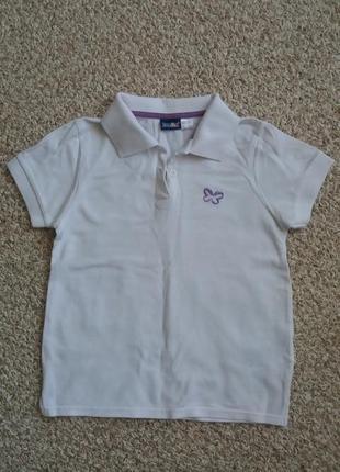 Скидки белоснежная polo в школу для девочки, рубашка polo, белая футболка