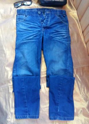 Крутые стильные синие джинсы варенка energetic denim 30/170